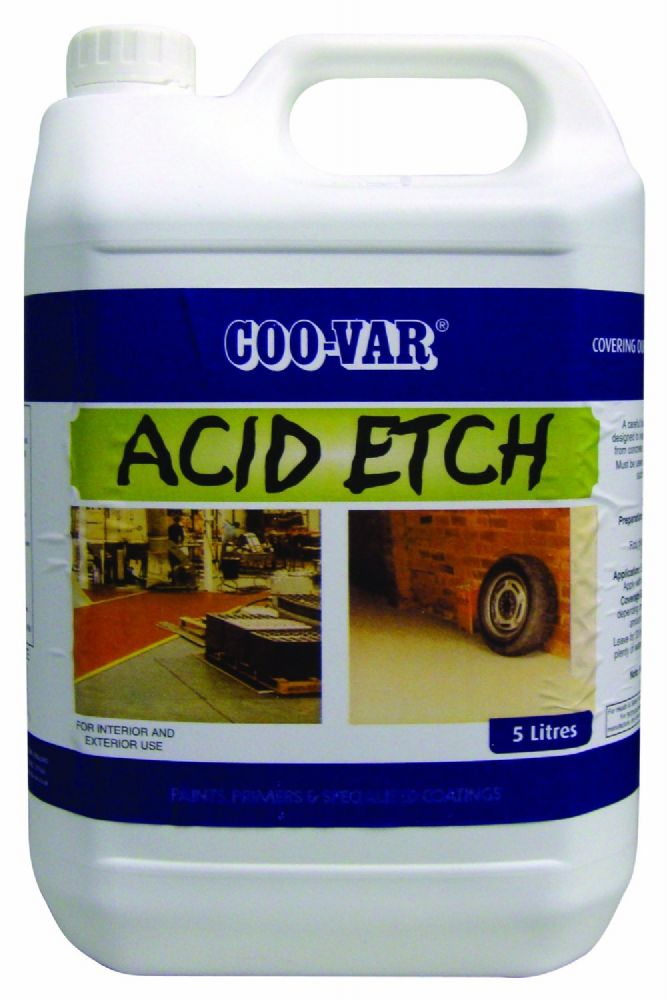 Coovar Acid Etch for Floors 5L